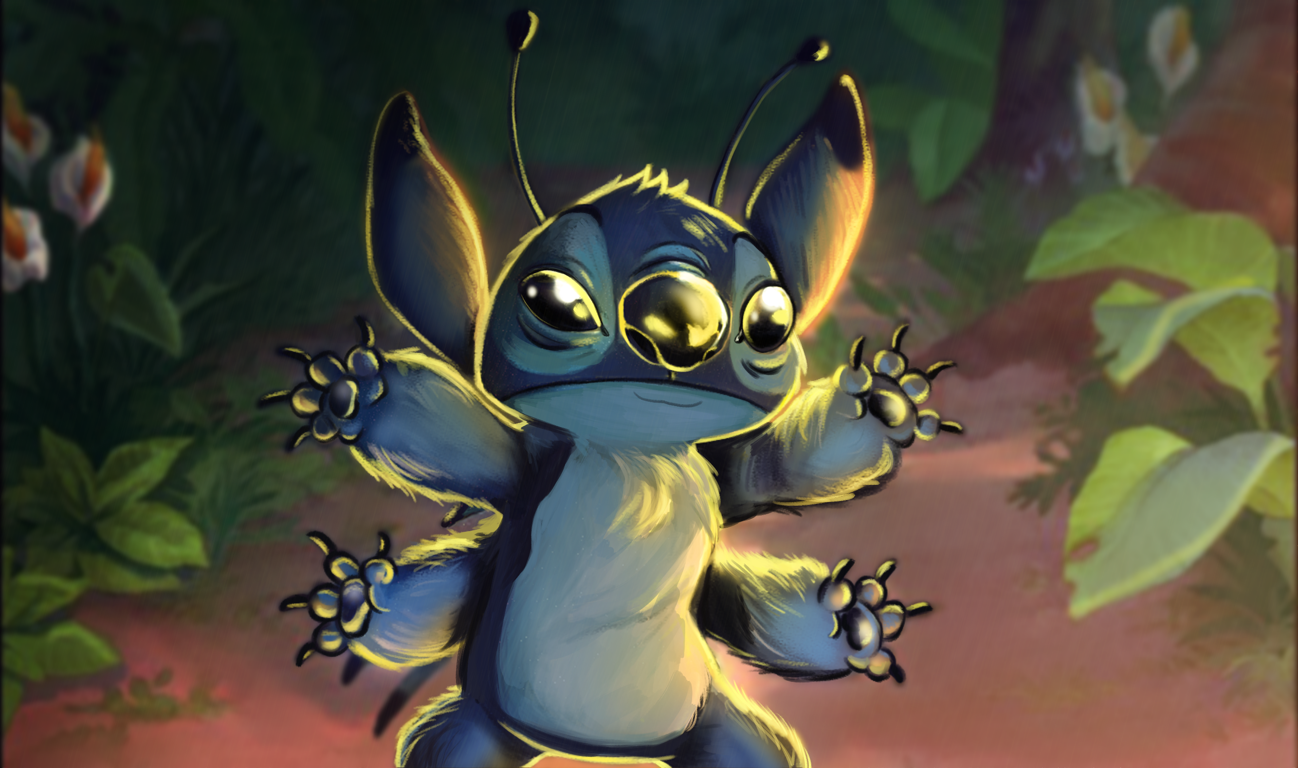 Stitch Paintover