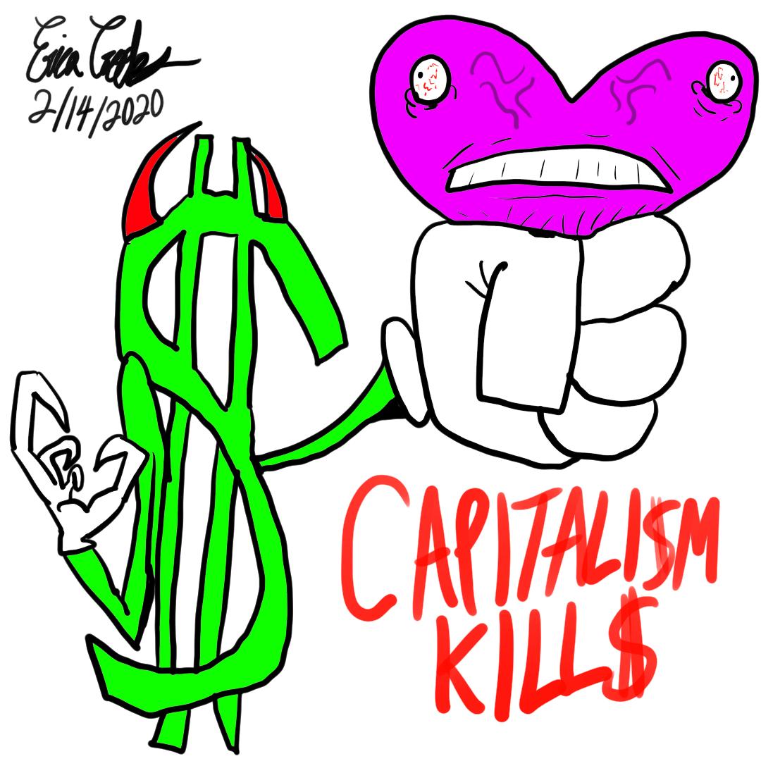 Erica Crooks Comics 2020 - Capitalism Kills