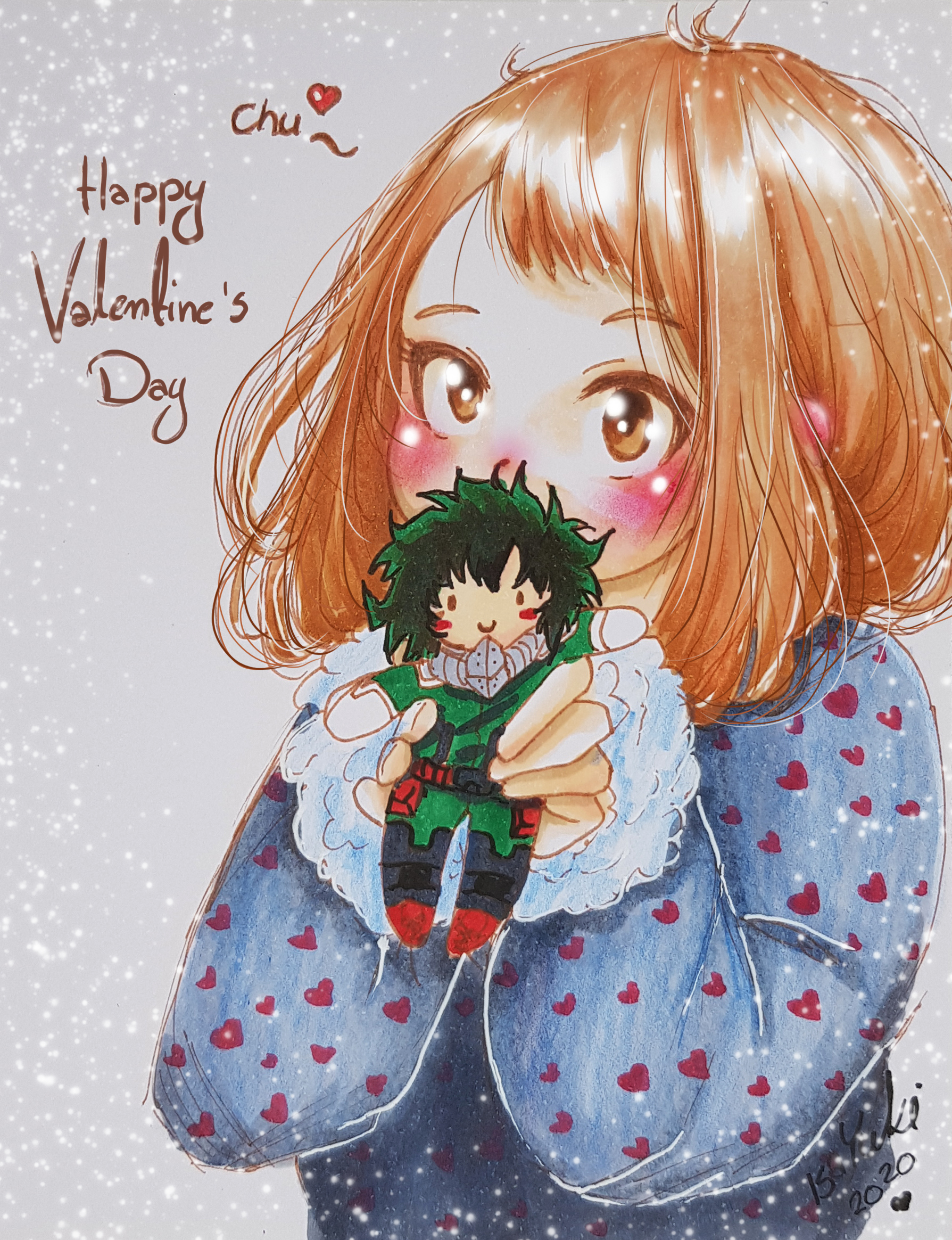 Happy Valentine's Day from My Cute Academia!