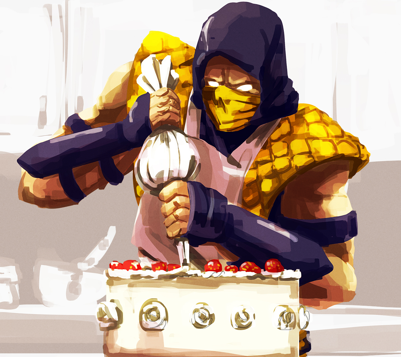 Warmup - Cooking with Scorpion