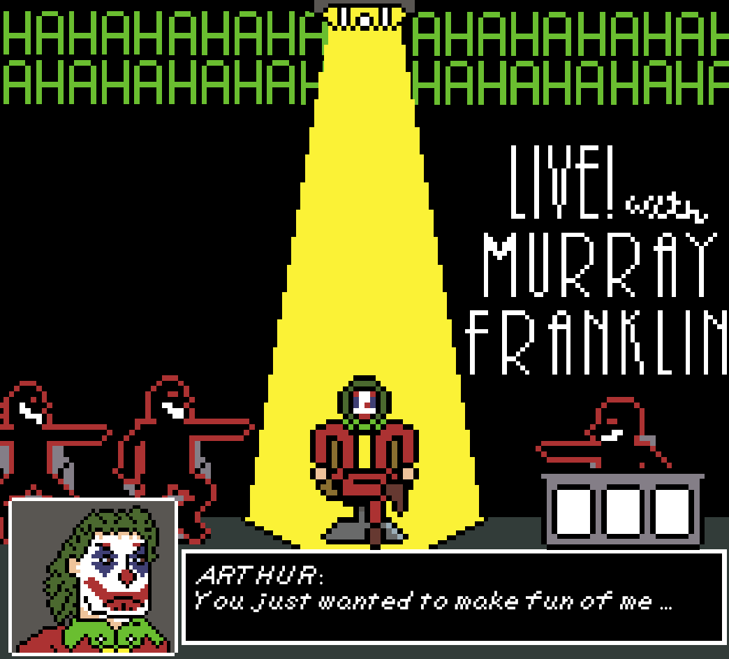 YOU'RE AWFUL, MURRAY