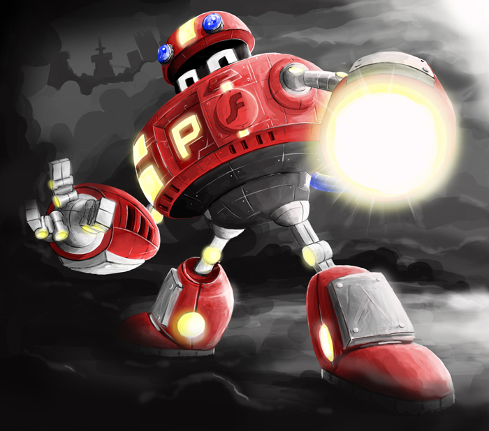 P-Bot's wrath