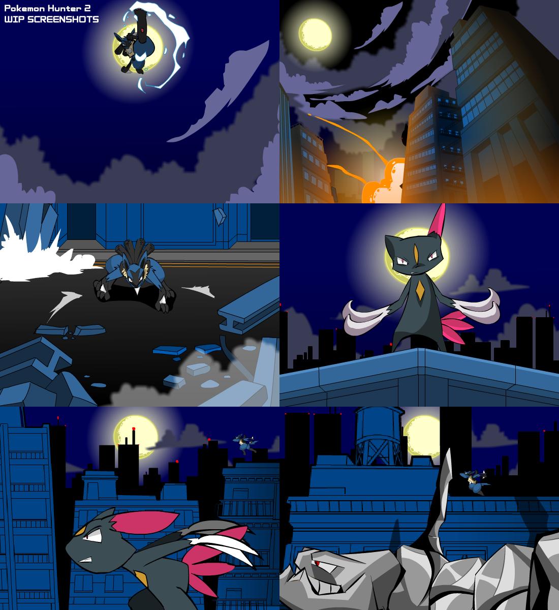 pokemon hunter wip screencaps