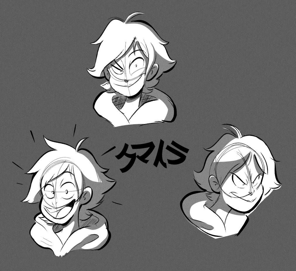 Kumatora doodles