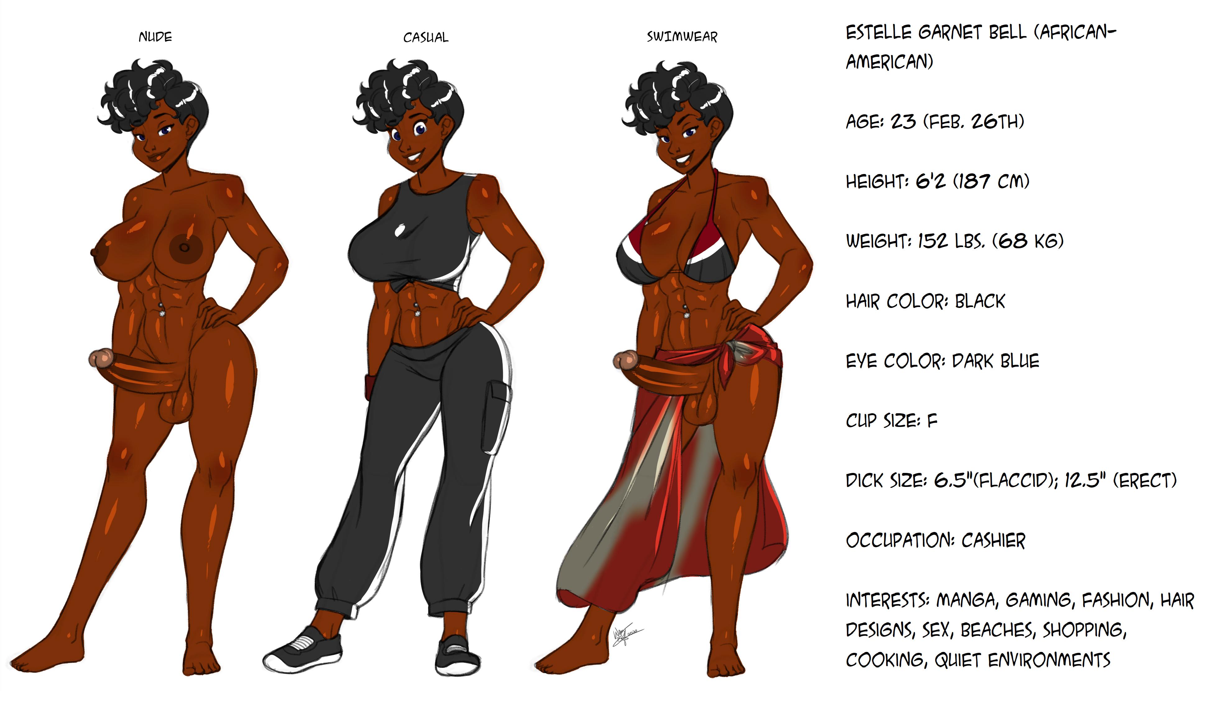 [Devinsaurus' OCs] Estelle Garnet Bell - Character Sheet