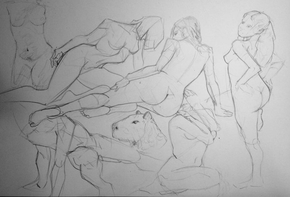 Figure Drawing 26/02/2020