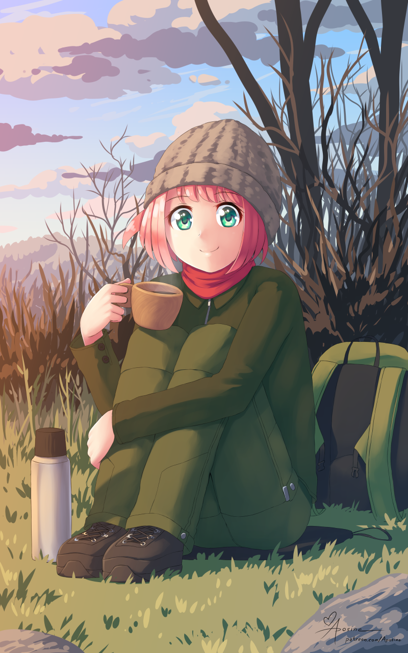 Konoka and Coffee