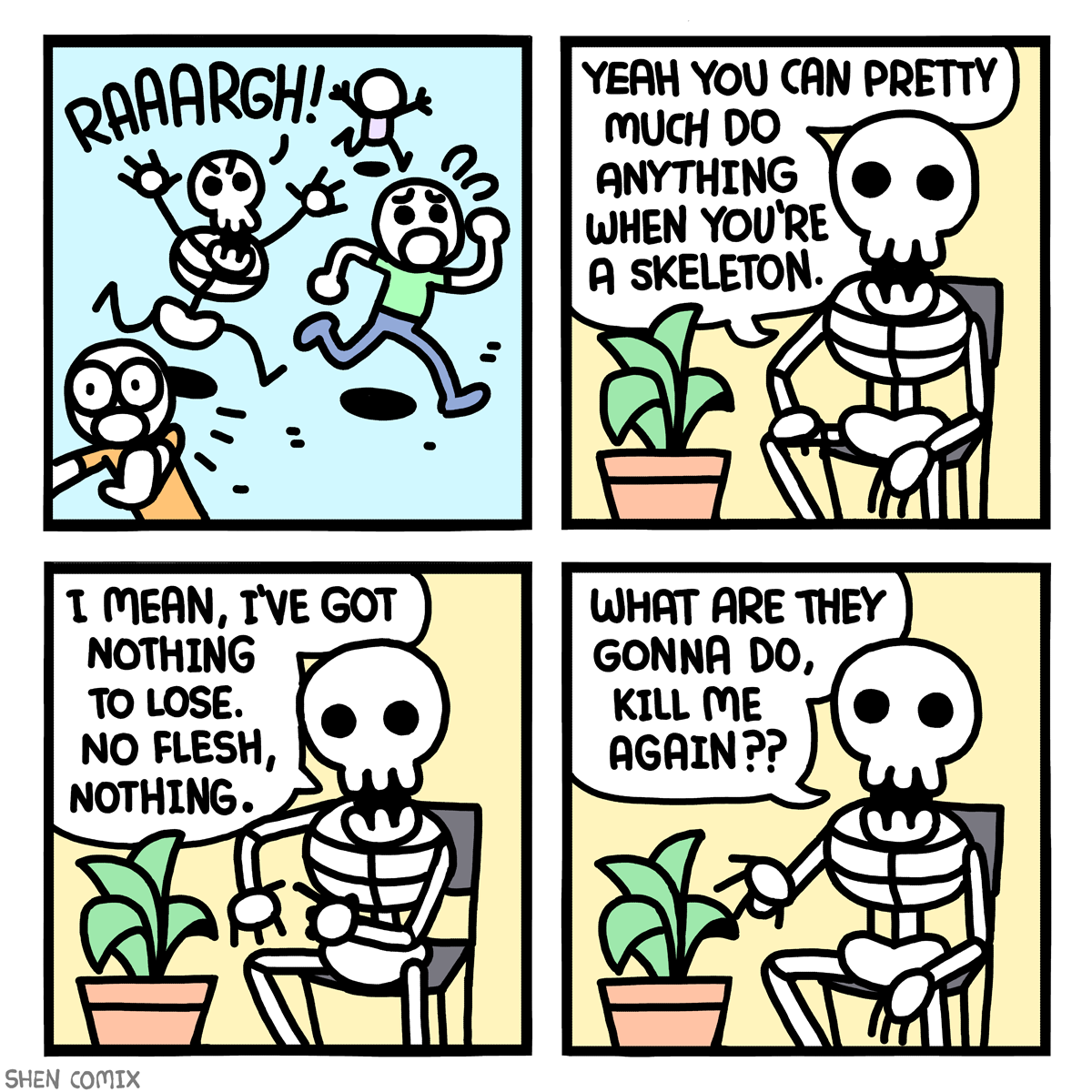My Life as a Skeleton