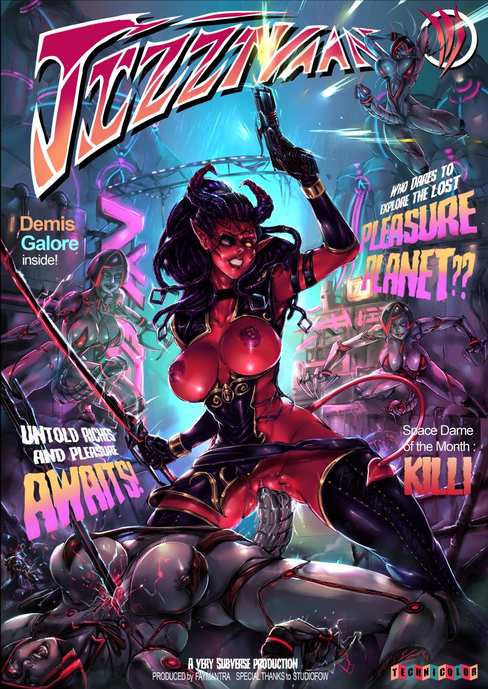 Jizztvaan 3 mag cover featuring Killi