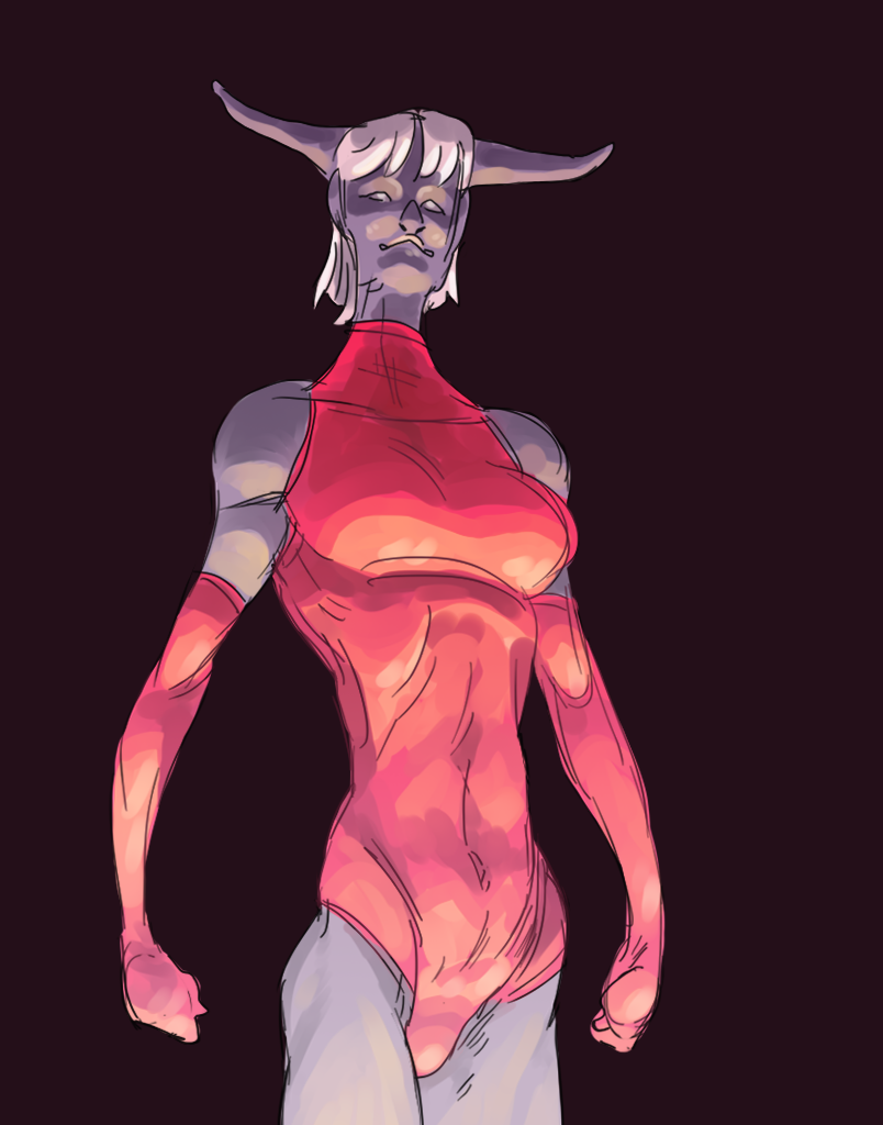 Ominous Horn Demon