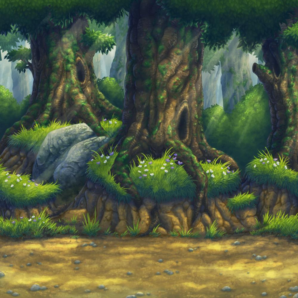 I dunno ... forest