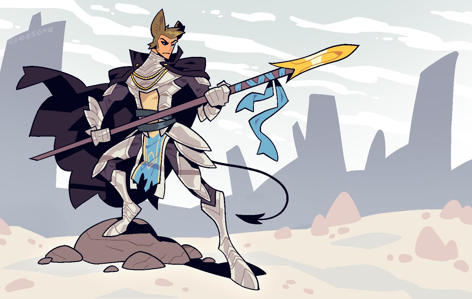 COMMISSION: Dog Knight