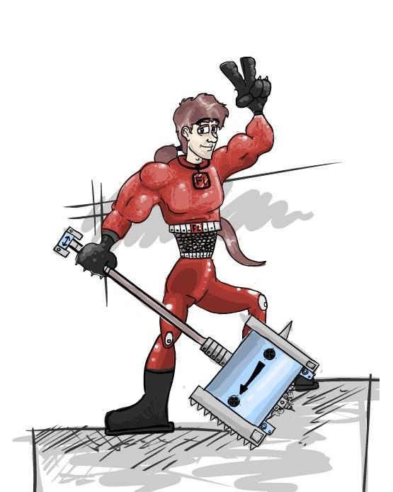 Flash-hammer Jamie