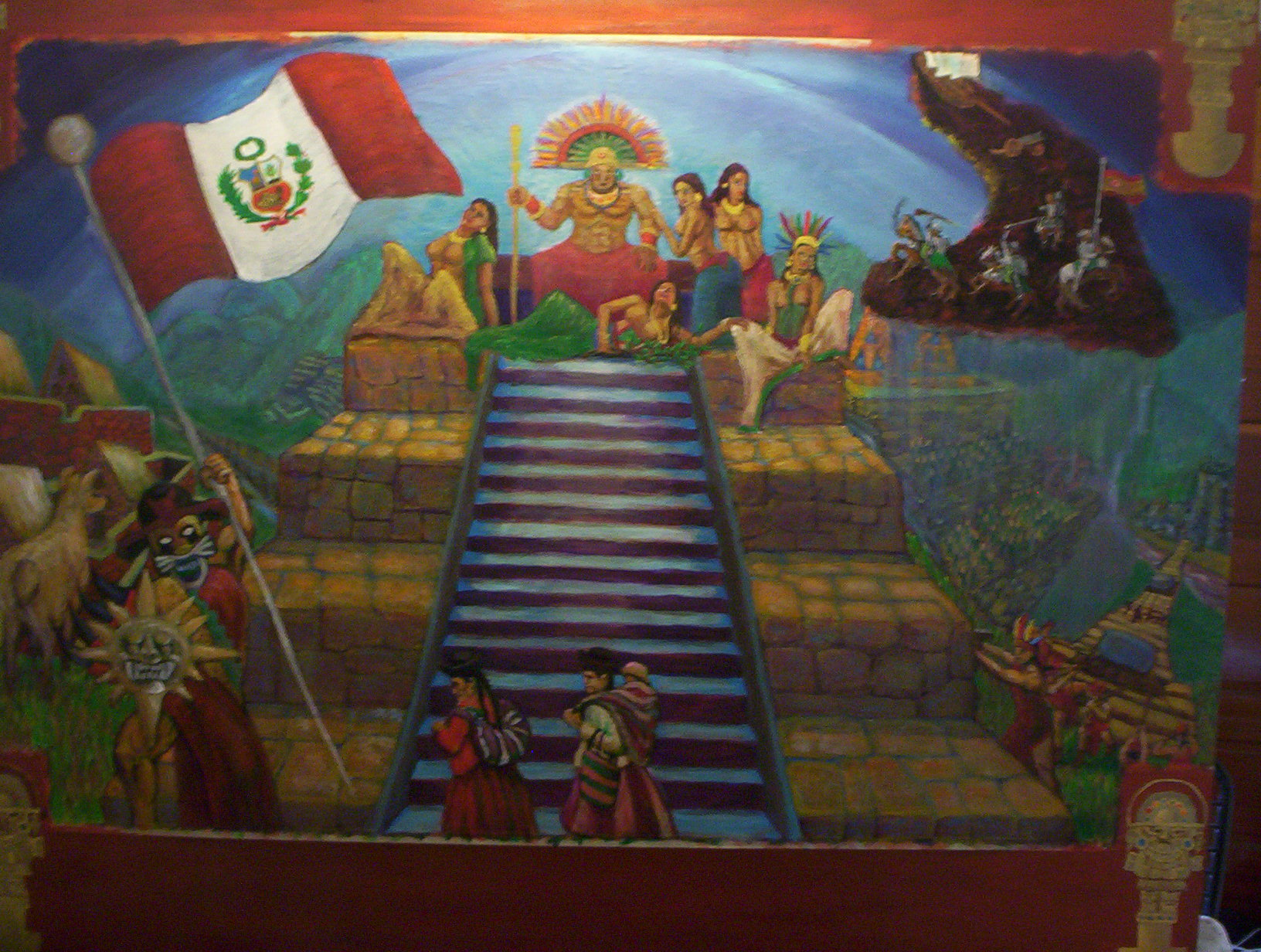 Incan Emperor and his Kingdom