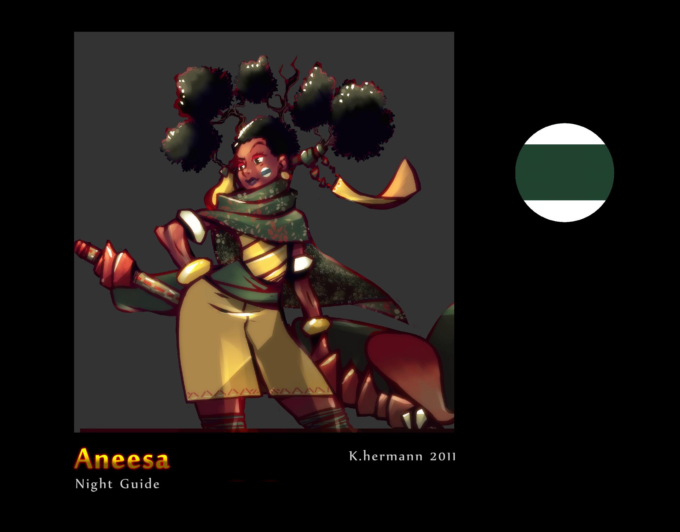 Aneesa the night guide