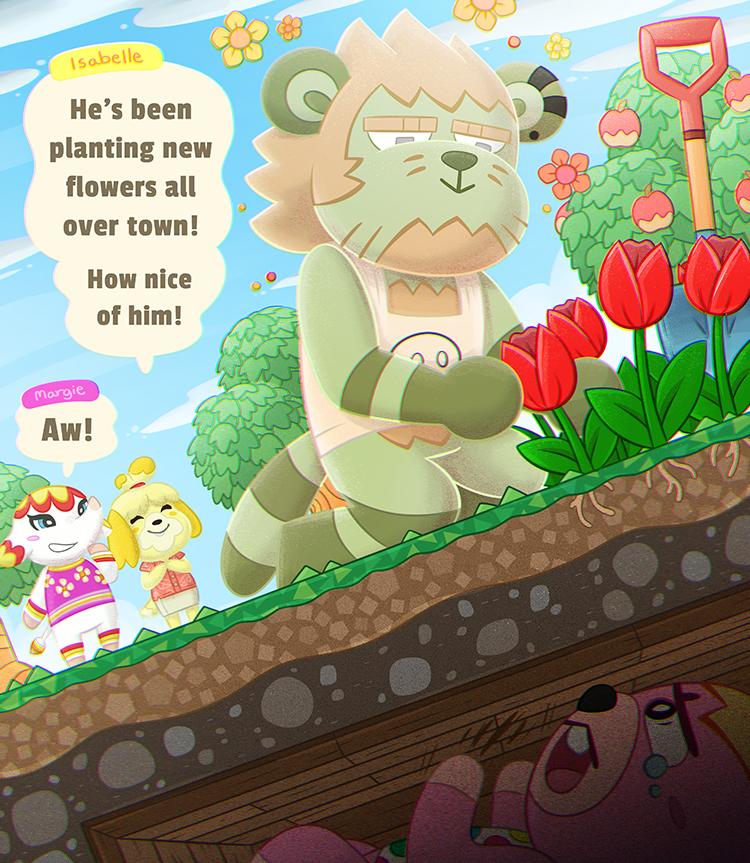 New villager - Animal Crossing New Horizons
