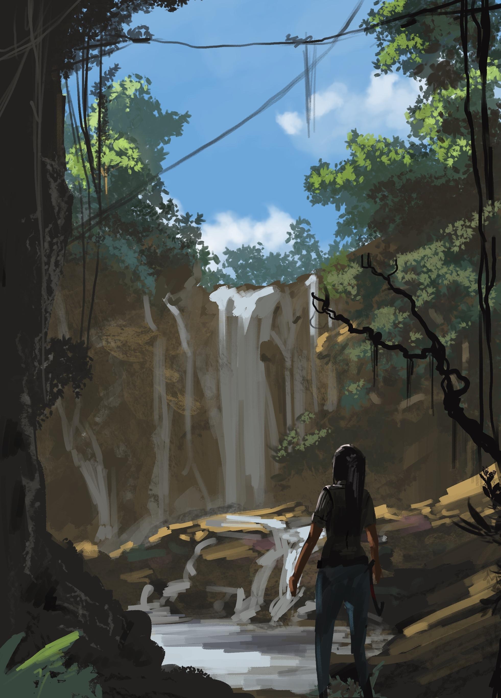 Tomb Raider Concept Art (Speedpaint)