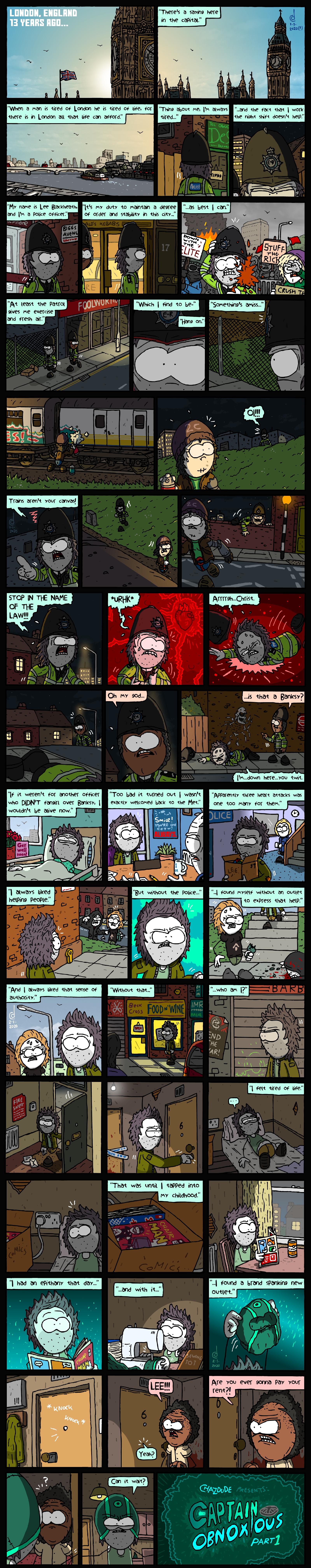 Captain Obnoxious, Part 1