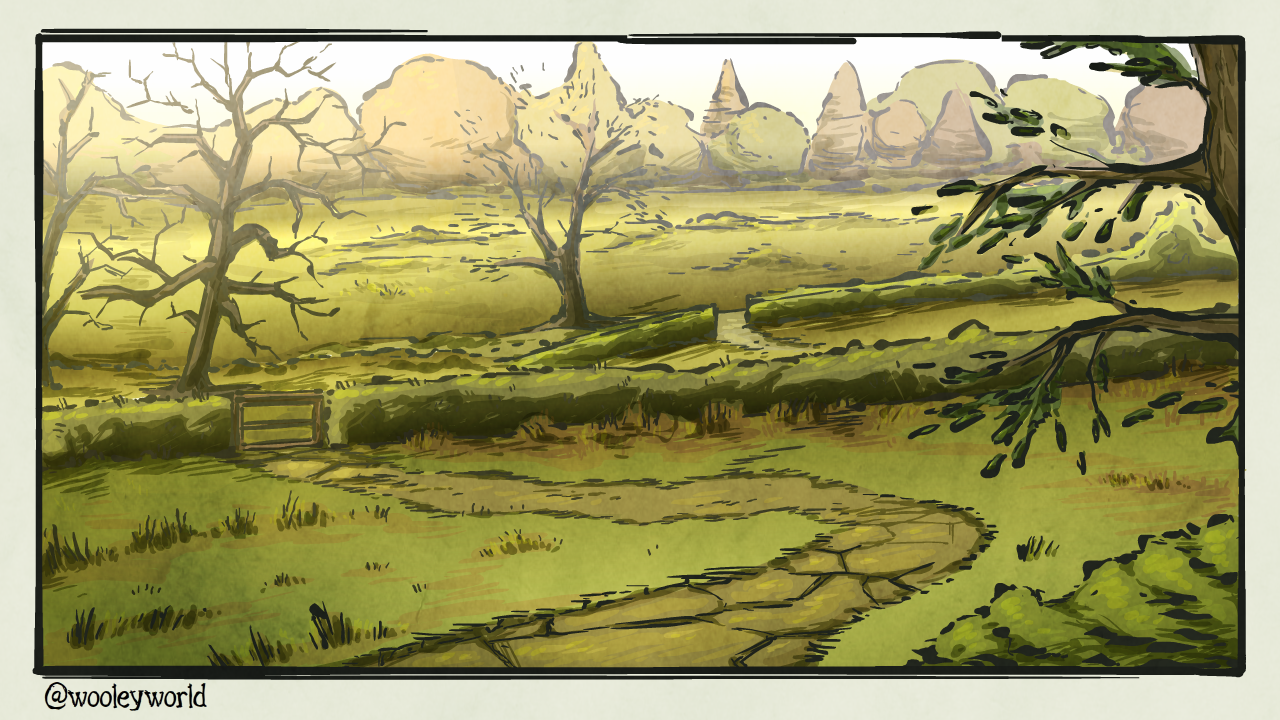 some rolling hills