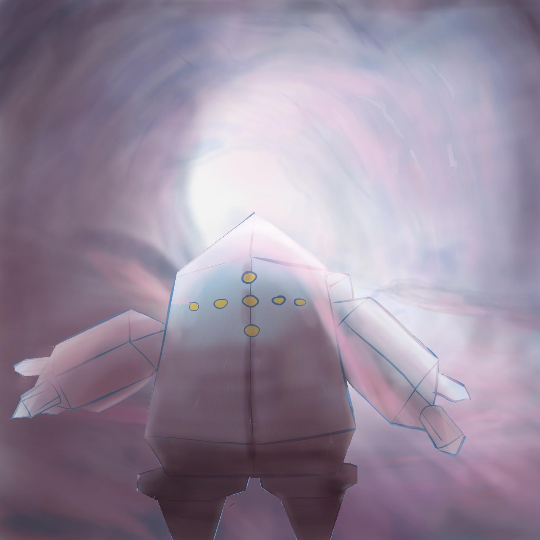 Regice in an ice cave