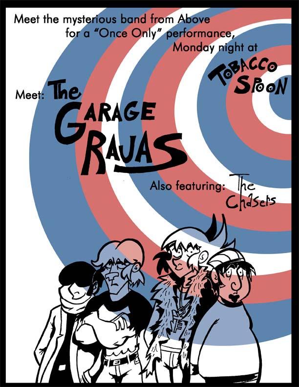 Poster For Garage Raja Track1