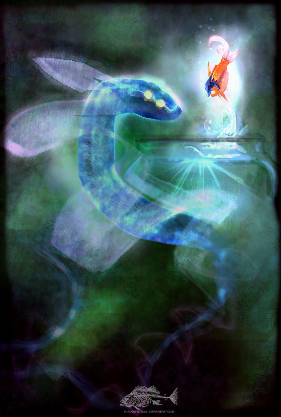 The Skyfish's Gaze