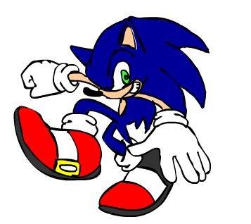 sonic flash style