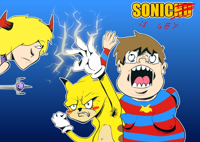 SONIC IS GEY