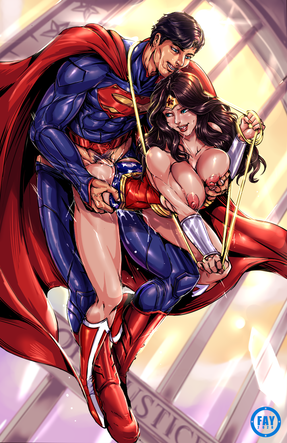 BvS with WonderWoman #2