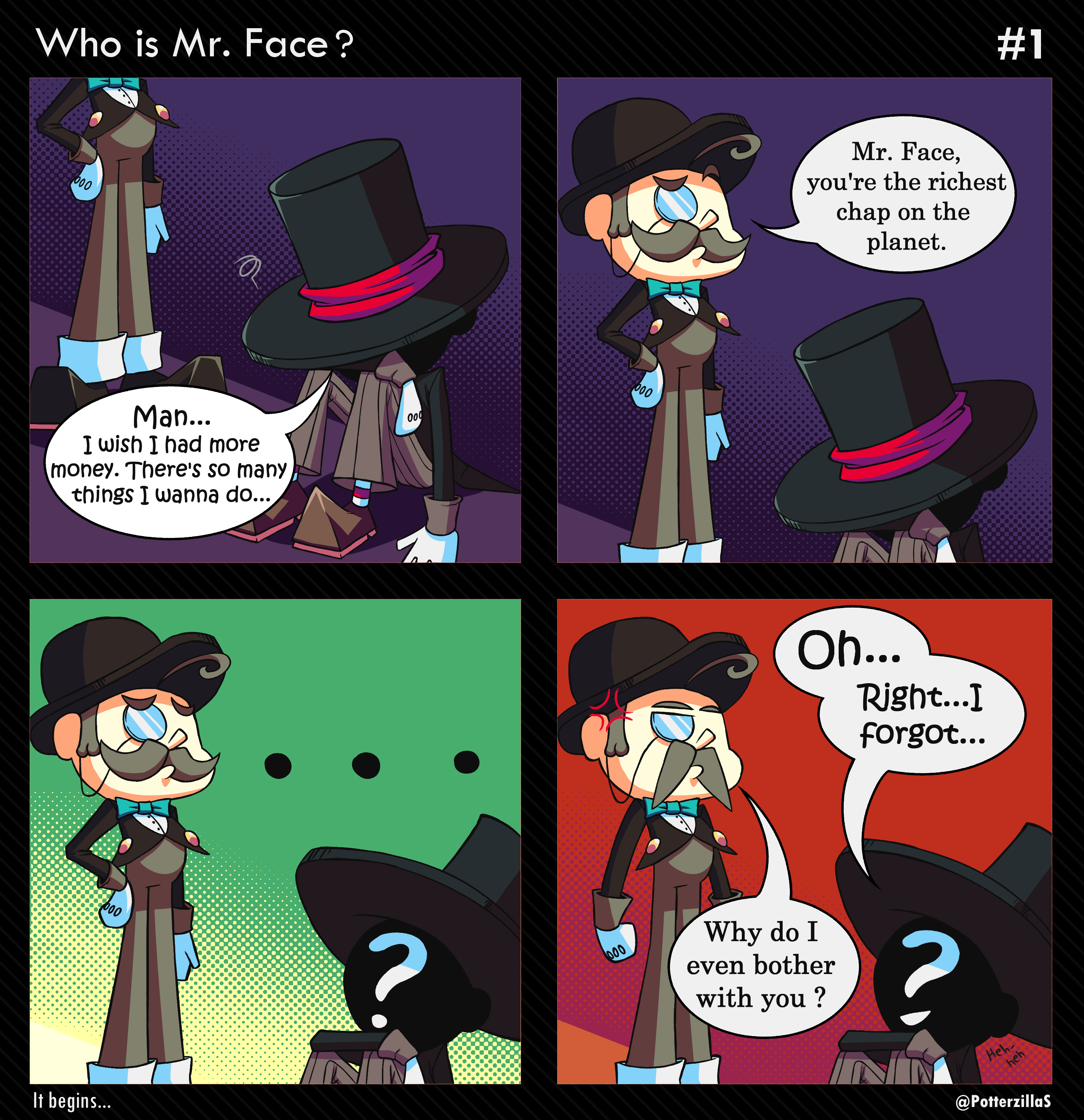 Mr Face #1- Who is Mr. Face ?