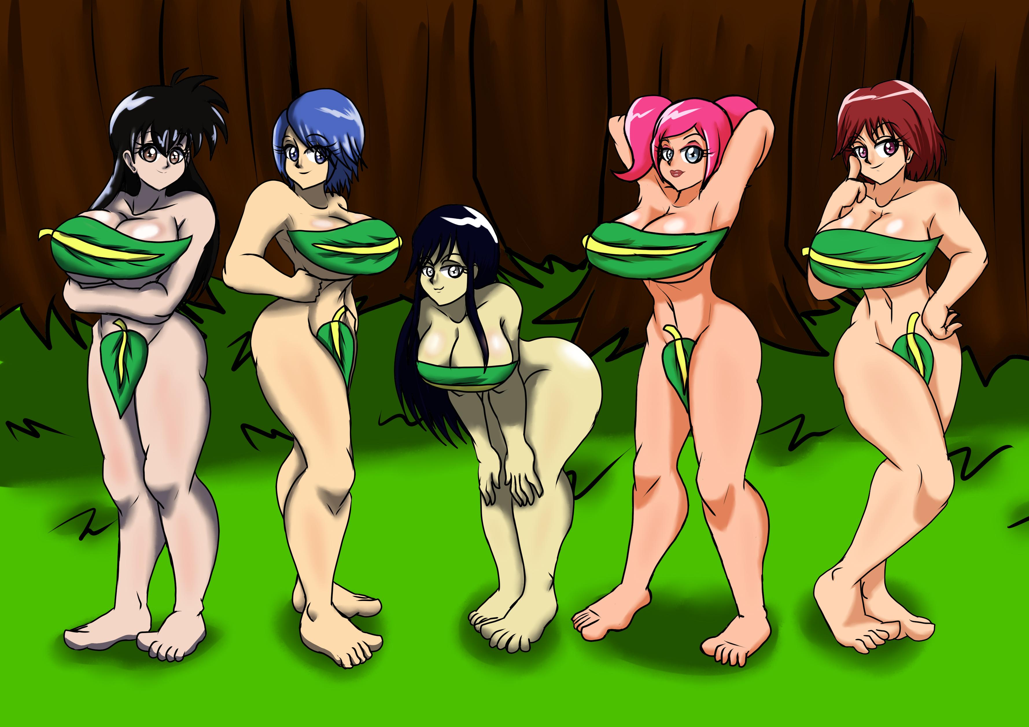 Art Trade: Forember Girls 2
