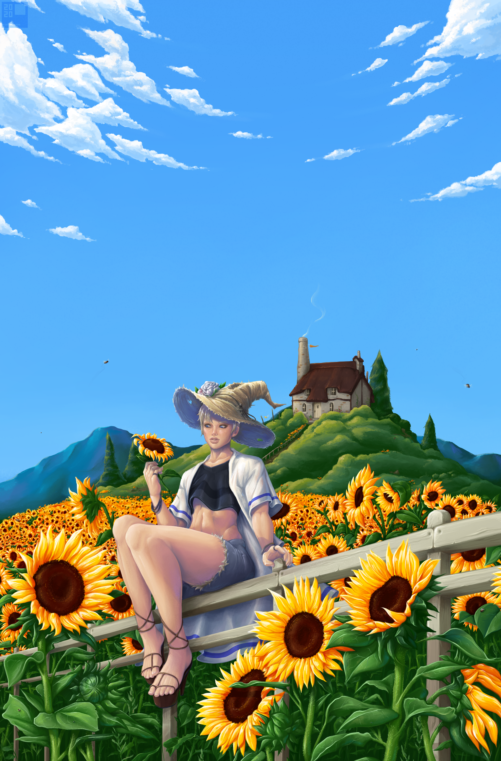 Summertime Witch