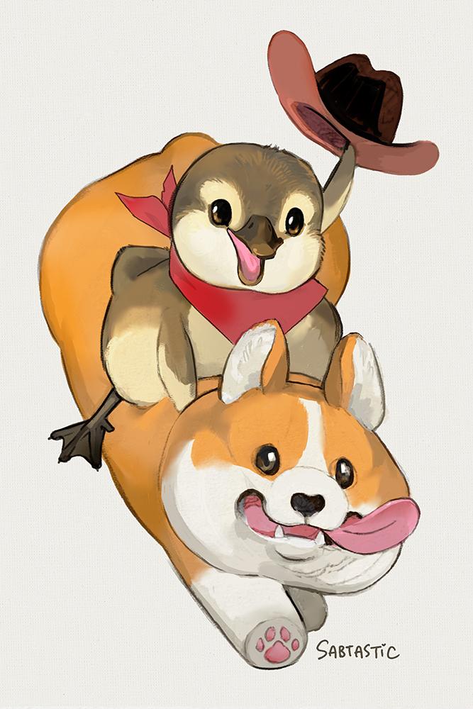 Rootin' Tootin' Cowpoke and his Noble Steed