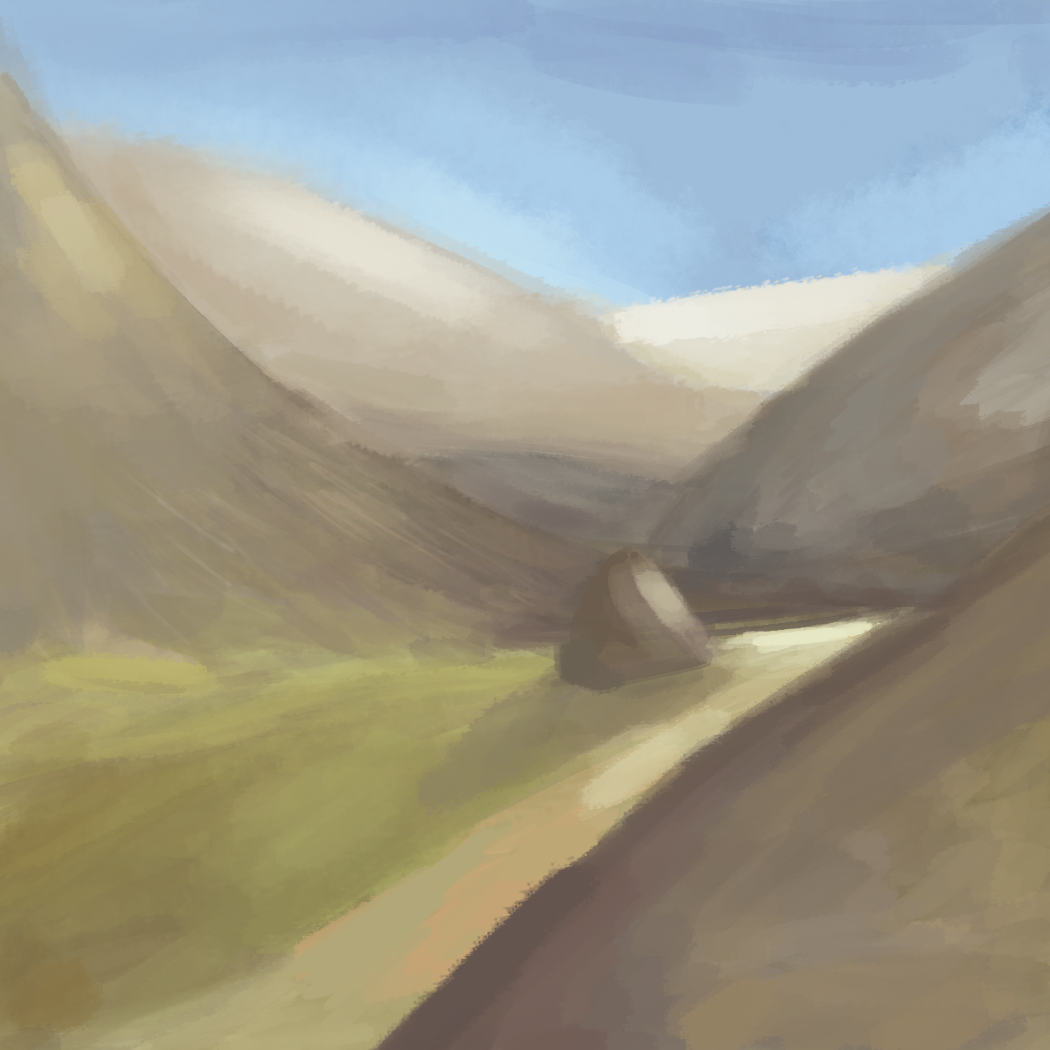 First landscape try
