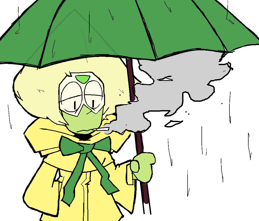 gloomy peridot