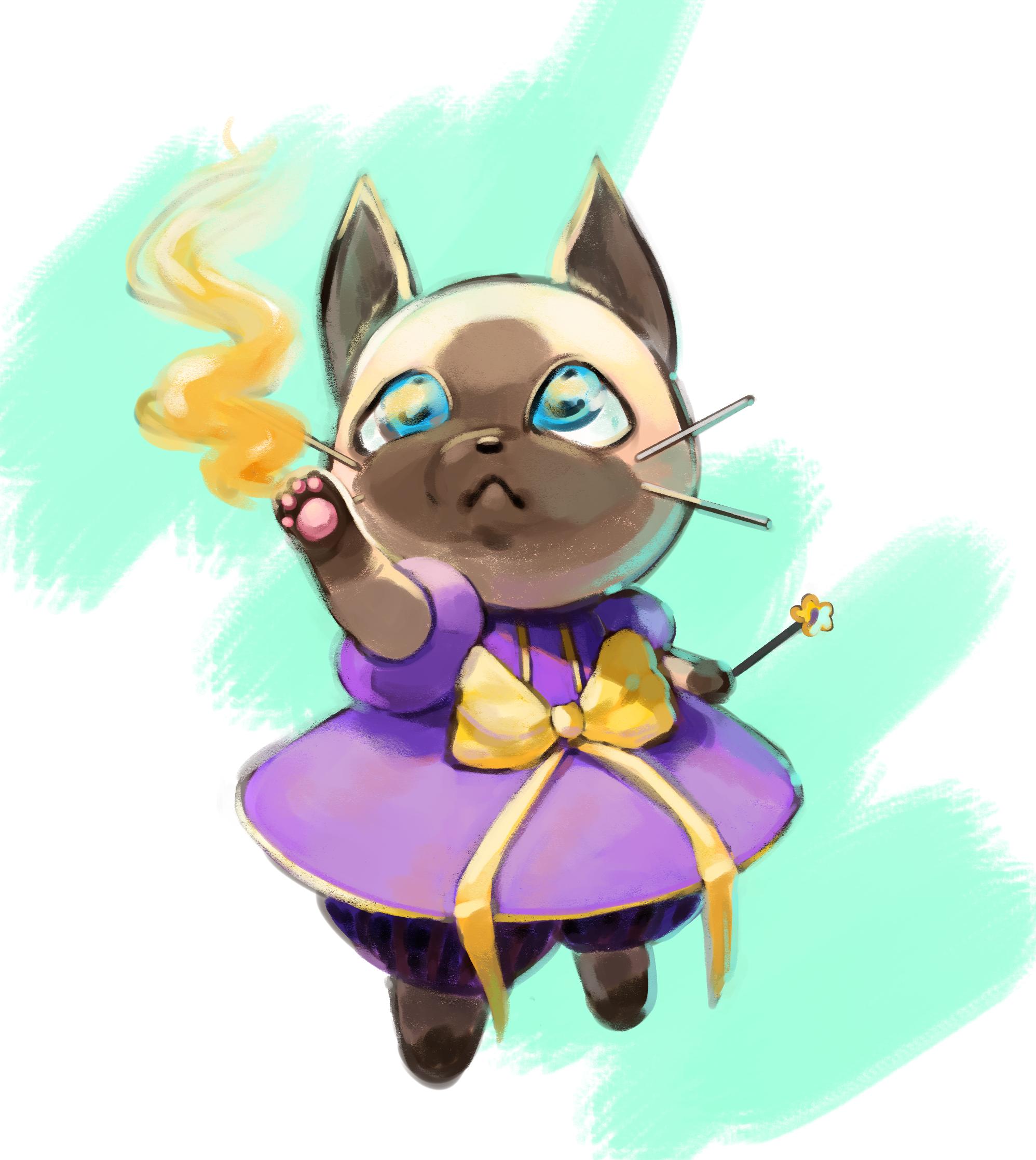 Siamese Cat Mage