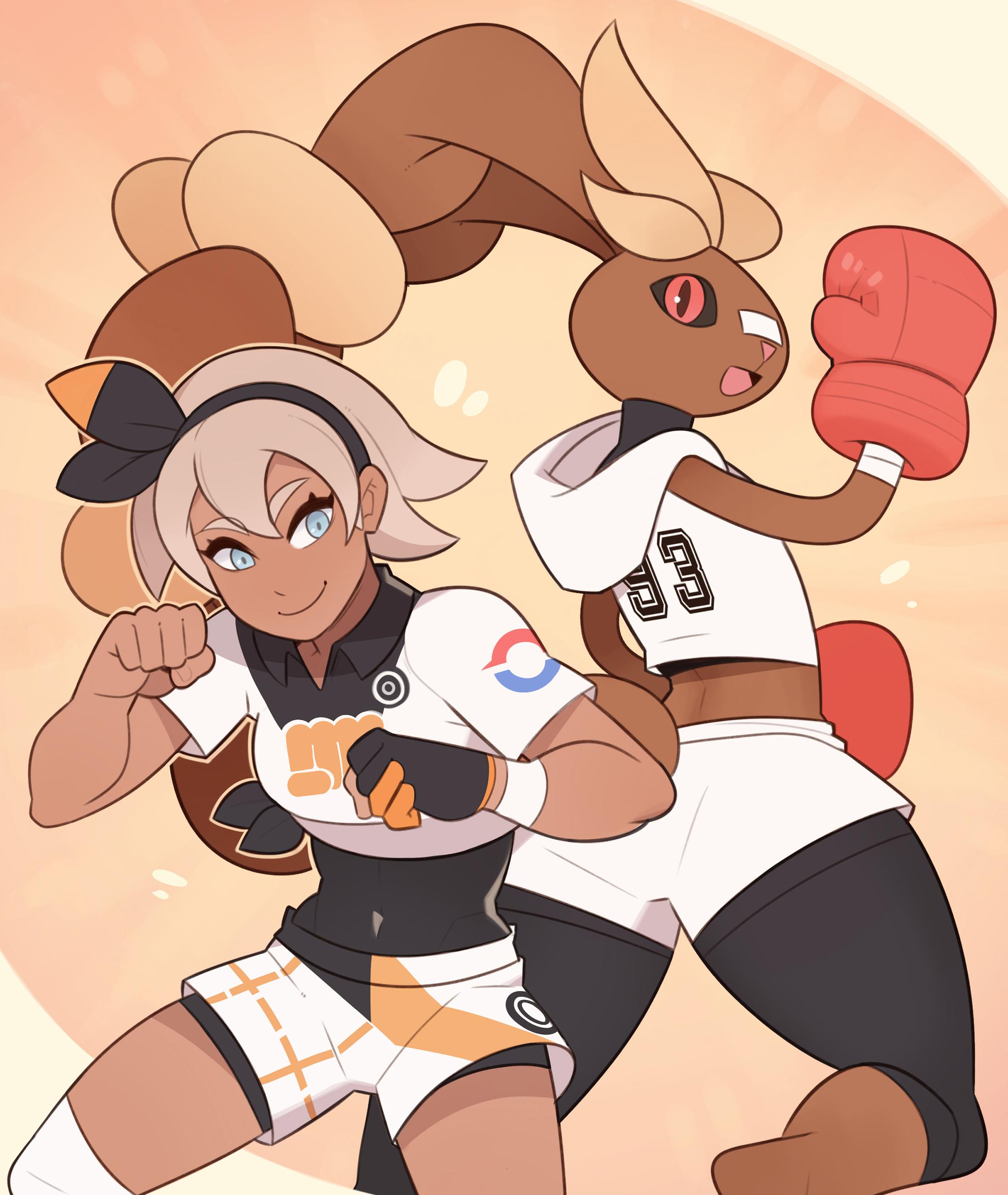 Pokemon, Bea and Lopunny