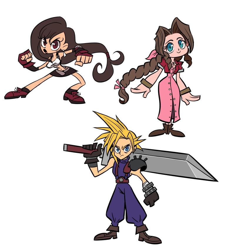 FF7 doodles