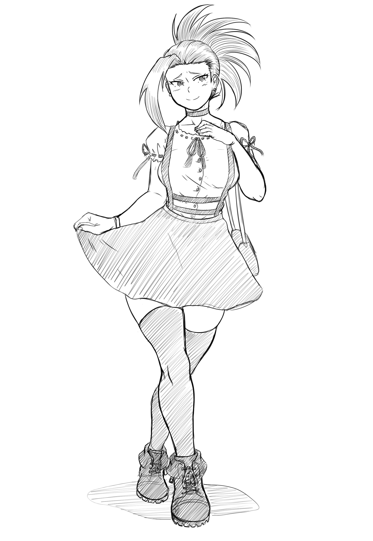 Momo onsie/skirt combo