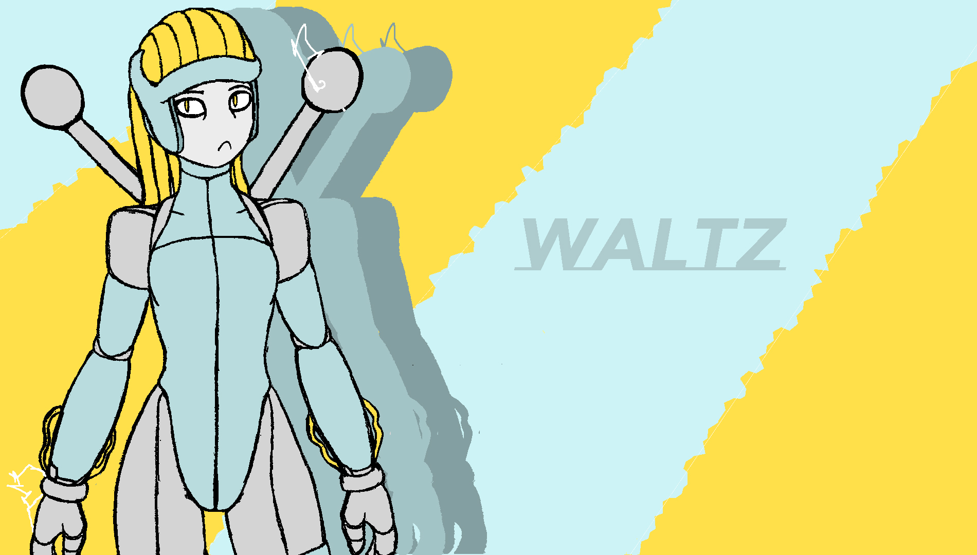 Megaman Inspired OC - Waltz