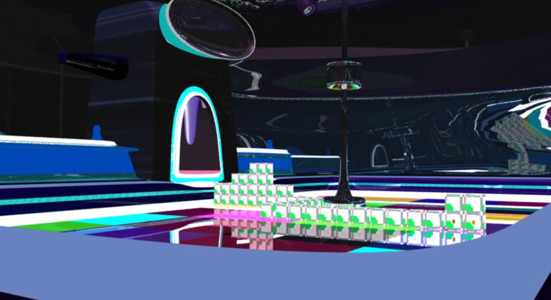 stadium of my thesis in 3d