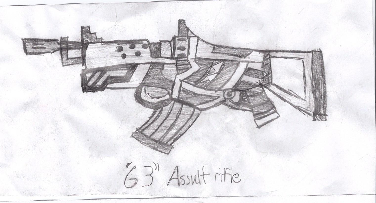 B.A. assult rifle