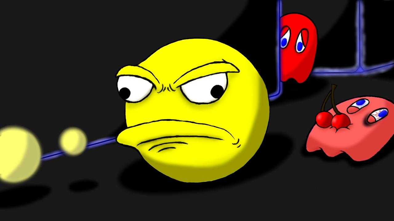 Disgruntled Pacman