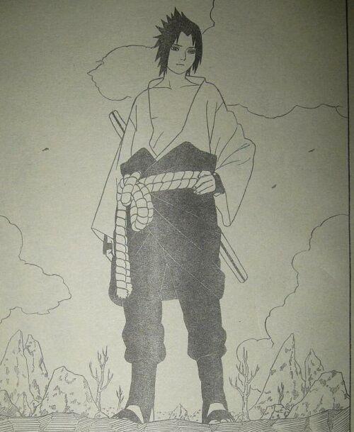 Sasuke Uchiha Shippuuden Manga