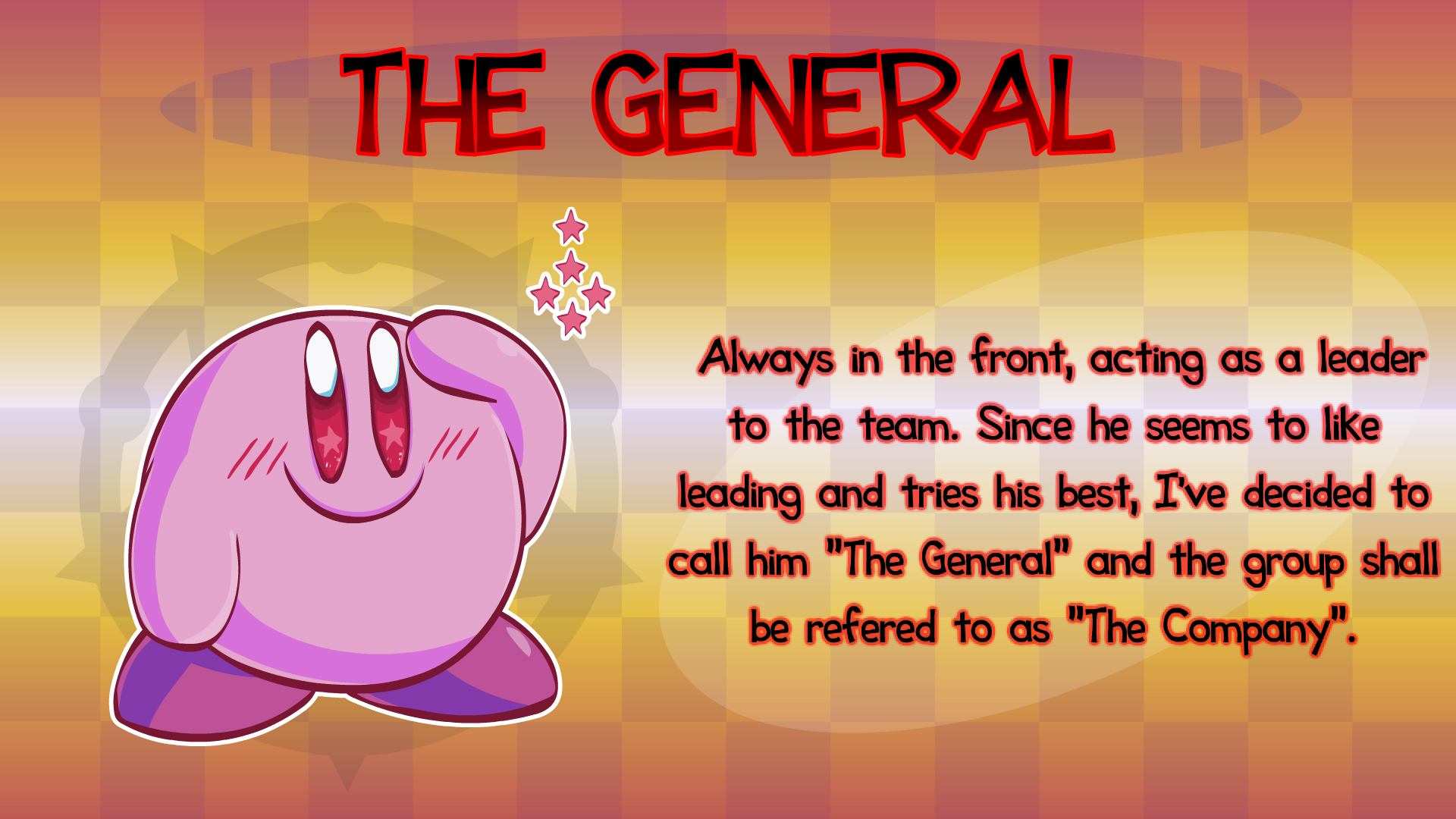 Kirby Guardian: The General