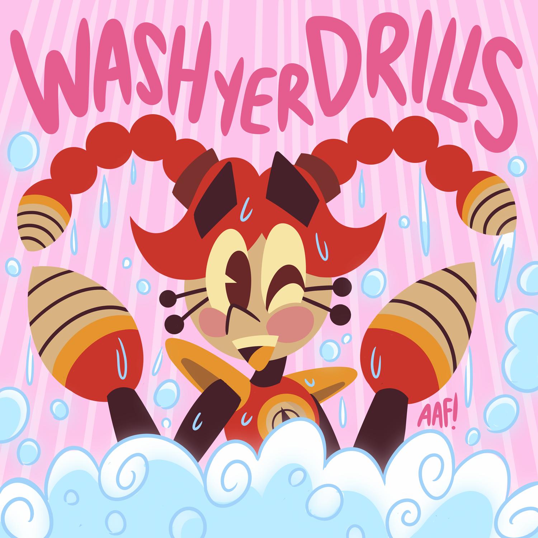 Wash Yer...Drills?