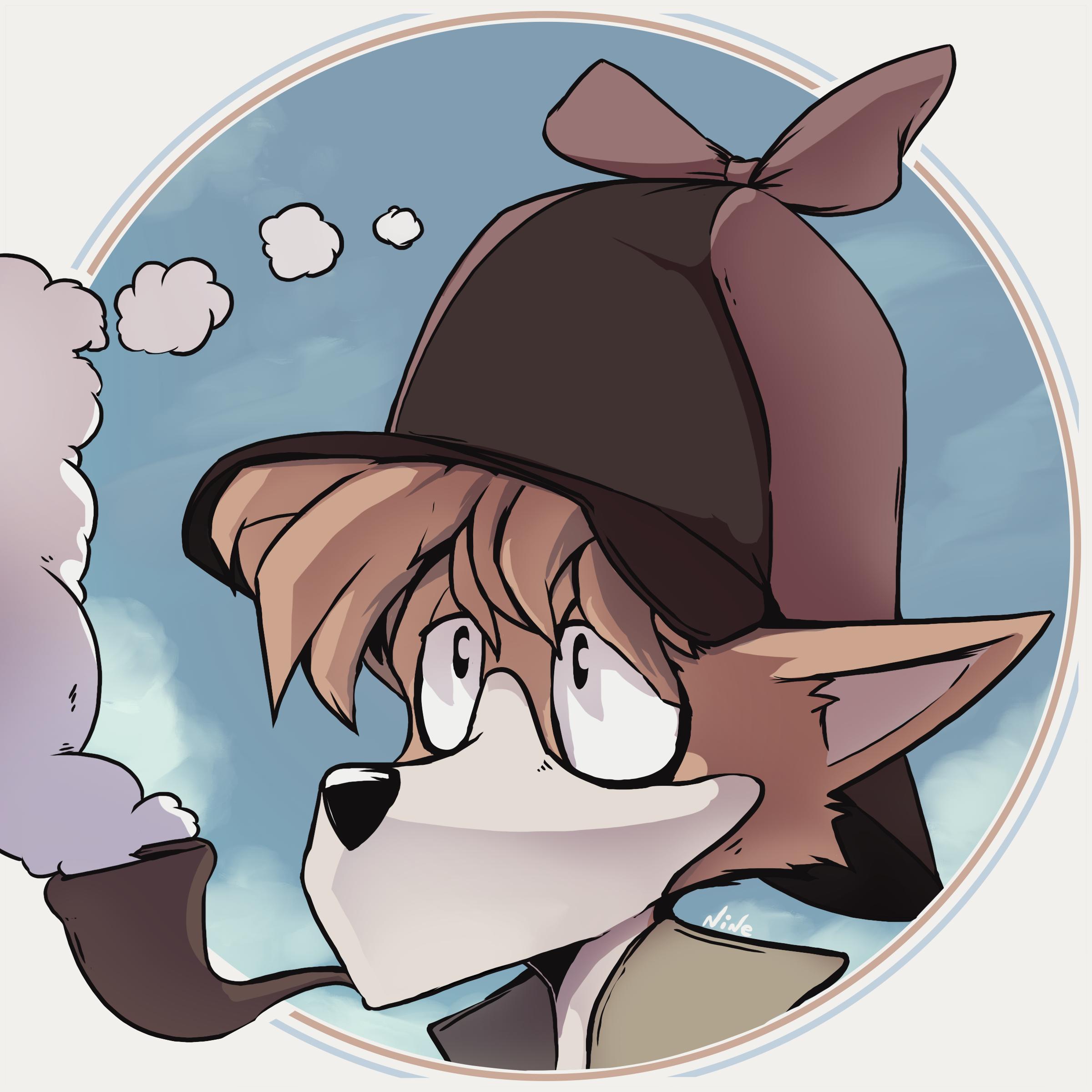 A Little Sherlock Hound Render