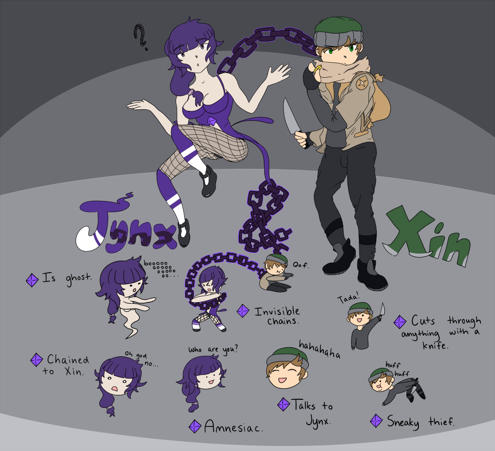 Xin & Jynx Roster [Page 1]