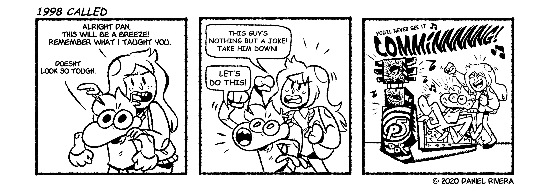 Eventually Comic #1