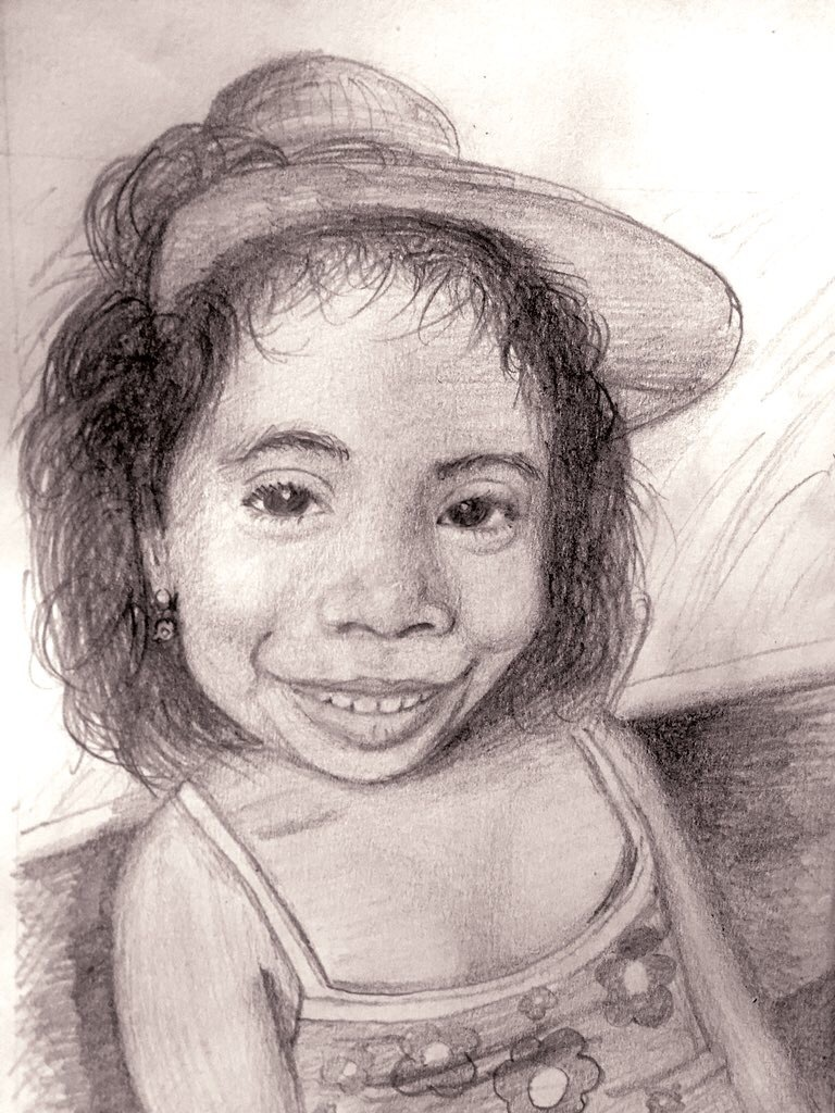 Portrait of my sister